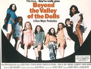 Beyond the Valley of the Dolls poster